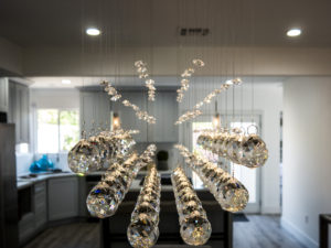 Gorgeous Chandelier at 6262 Ethel Ave