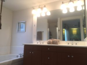 Master Bathroom at 750 S San Fernando Blvd #104
